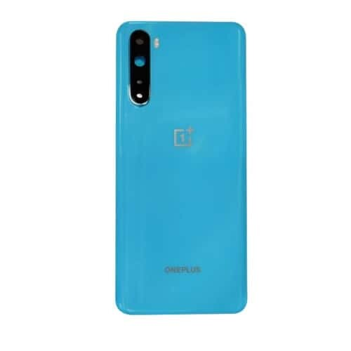 OnePlus Nord Back Panel Replacement in India Chennai Battery Cover Blue Marble