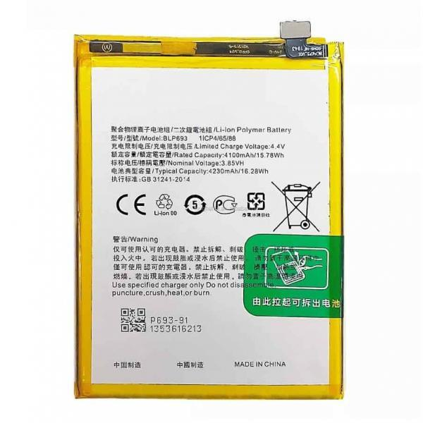 Realme 3 Battery Replacement Price in India Chennai - BLP693