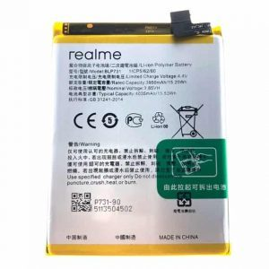Realme 5 Pro Battery Replacement Price in India Chennai - BLP731