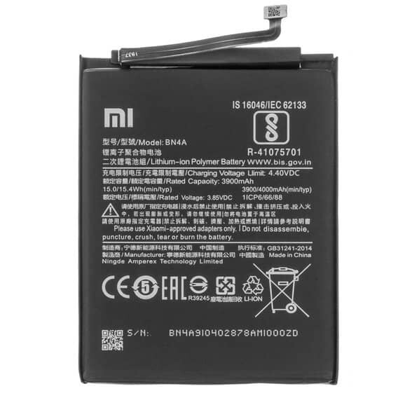 Redmi Note 7 Pro Battery Replacement price in India Chennai - BN4A
