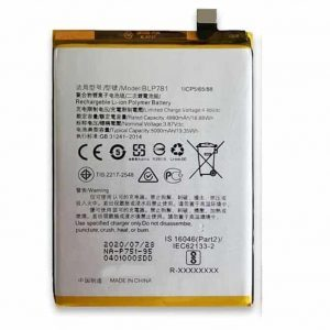 Oppo A52 Battery Replacement Price in India Chennai - BLP781
