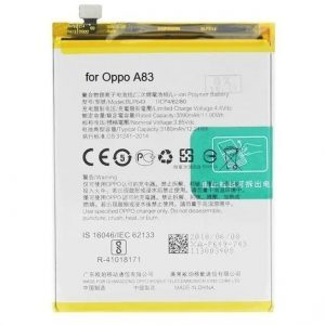 Oppo A83 Battery Replacement Price in India Chennai - BLP649