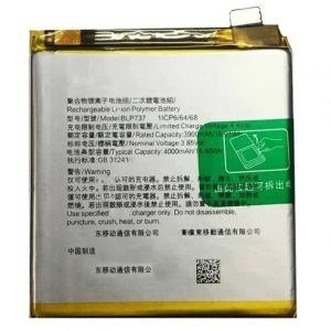 Oppo Reno 2Z Battery Replacement Price in India Chennai - BLP737